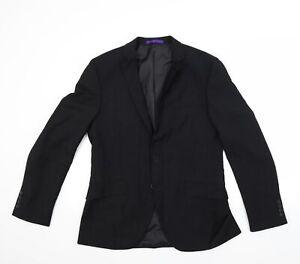 Ted Baker Mens Black   Jacket Blazer Size 38