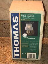 THOMAS Lighting One light wall bracket DY6280 Antique Brass  NOS