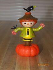 Solar Dancing Male Halloween Scarecrow..dances in sunlight..brand new