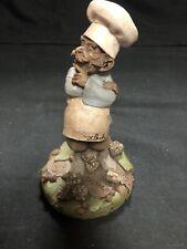 "Vintage Thomas Clark Gnome Figurine "" Caesar "" 5.5"""