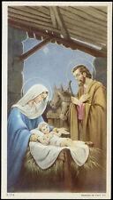 """santino-holy card""""""""ediz. NB serie 3  n.174 NATIVITA'"""