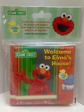 Sesame Street Bath Time Bubble Book Welcome To Elmo's House - New Kids Toy