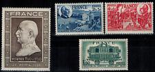 Série des timbres de France N° 606 au 609 Neuf **