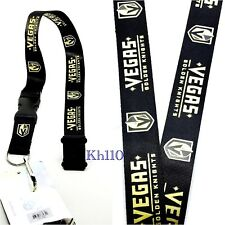 NHL Vegas Golden Knights Clip On KeyChain Lanyard