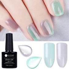 2PCS Gel Nail Polish UV LED Glitter Varnish Soak Off Manicure Set Tips Salon
