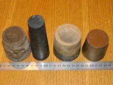 LOt 4 BOUCHON ROND JOINT en CAOUTCHOUC big Round Cork PLOMBERIE tuyau Stecker