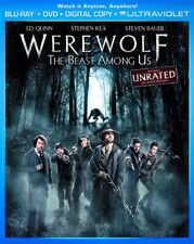 WEREWOLF THE BEAST AMONG US New Sealed Blu-ray + DVD Unrated & Rated Version