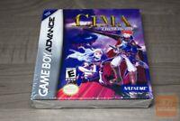 CIMA: The Enemy (Game Boy Advance, GBA 2003) H-SEAM SEALED! - RARE! - EX!