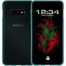 Coque Transparent Turquoise pour Samsung galaxy S10e Étui Portable Housse de