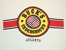 Vintage Buck's Underground Atlanta Georgia Shopping Mall Outlet T Shirt L