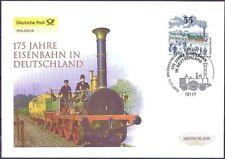 BRD 2010: Eisenbahn 175 Jahre! Post-FDC der Nr. 2833 mit Berliner Stempel! 1901