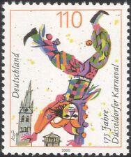Germany 2000 Dusseldorf Carnival/Clown/Jester/Animation 1v (n29087)