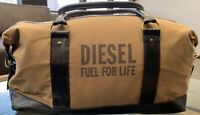 Brand New Diesel Weekend Bag Duffle gym holdall Fuel for Life