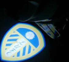 Leeds United Standard Badge Car Door Lights