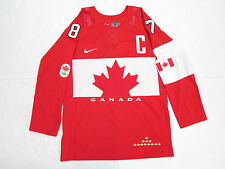 SIDNEY CROSBY TEAM CANADA RED SOCHI 2014 OLYMPICS NIKE HOCKEY JERSEY SIZE SMALL