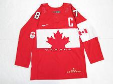 SIDNEY CROSBY TEAM CANADA RED SOCHI 2014 OLYMPICS NIKE HOCKEY JERSEY SIZE SMALL