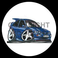 Koolart 4x4 4 x 4 Spare Wheel Graphic Ford Escort Cosworth Lux Sticker 183