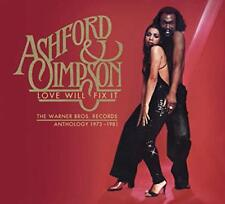 Ashford and Simpson - ASHFORD and SIMPSON LOVE WILL FIX IT THE WARNER BROS [CD]