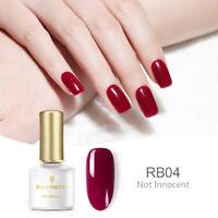 6ml BORN PRETTY Soak off UV Gel Nail Polish DIY Red Series BP-RB04 Not Innocent