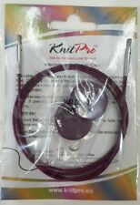 Knit Pro Single Cable for Interchangeable Needles 76cm to Make 100cm Circulars