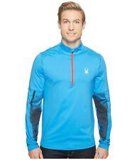 SPYDER Alps Tech 1/4 Zip Pullover Men's Size XXL Blue  ProWeb 2XL XXL