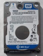 """WESTERN DIGITAL WD 2.5"""" WD5000LPVX 500GB HARD DISK DRIVE PC MAC OS X High Sierra"""