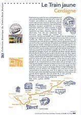 Document Philatélique Timbre 1er Jour : 14/07/ 2000 - Le Train Jaune Cerdagne