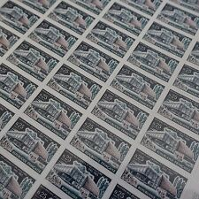 FEUILLE SHEET TIMBRE TROYES MAISON DES JEUNES N°1448 x50 1965 NEUF ** LUXE MNH