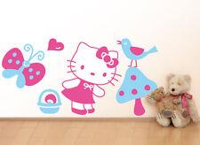 Wall Stickers adesivi murali hello kitty 120x60 fungo