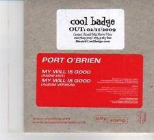 (DW474) Port O'Brien, My Will Is Good - 2009 DJ CD
