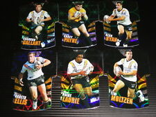 2009 NRL CLASSIC DIE CUT JERSEY TEAM SET OF 6 CARDS WEST TIGERS
