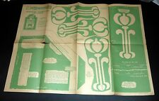 Fretwork Table No. 1918 Hobbies design-Combined Bookstand and Table 1932