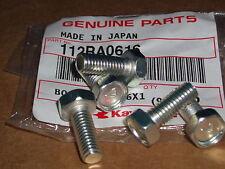 Kawasaki Nos H1 Kh S1 S2 S3 Z Kz G F.recessed bolts no#7 5pcs 112G0616