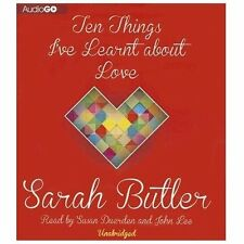 Ten Things I've Learnt about Love by Sarah Butler (2013, CD)