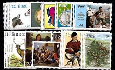 IRELAND stamps #477//657  — (8) COMPLETE SETS -- 1980 -- MINT
