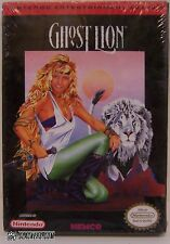 GHOST LION (Nintendo Entertainment System) FACTORY SEALED w/ H-Seam RPG NES NEW!