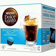 DOLCE Gusto Iced coffee blend (Giappone) 16pods / Servings LOOSE nel Regno Unito consegna rapida