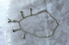 Crafted Horseshoe Nail Pendant with extra's on 50cm Bulky Chain - Pack 8