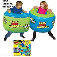 New Kids Inflatable Body Bumper Sumo Suit Toy Childrens Safe Fun Ball Bodysuit