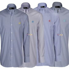 Unbranded Men's Long Sleeve Button Down Casual Shirts & Tops