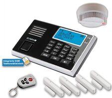 OLYMPIA Protect 9060 système d'alarme GSM avec capteur de fumée & 4xtür /