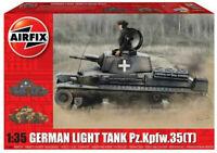 Airfix German Light Tank Pz.Kpfw.35(t) 1:35 Scale Plastic Model Tank Kit A1362