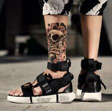 Mens Sneaker Sandals Beach Sport Athletic Comfort High Top Ankle Buckle Shoes