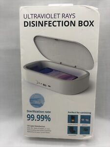 Ultraviolet Rays Disinfection Box With Wireless Charger 99.99% Sterilization