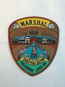 Police Patch - United States Marshal - Tombstone , Arizona - US MARSHAL - L54