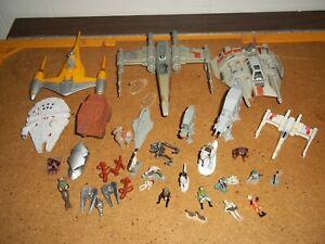 Star Wars Micro Machines Assorted Lot. Spaceships, Vehicles, Creatures & Figures