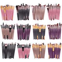 15pcs Cosmetic Eyeshadow Makeup Brushes Set Powder Foundation Eyeliner Lip Brush