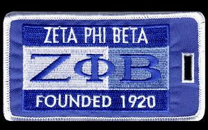 "Zeta Phi Beta ""Founders"" Luggage Tag  L@@K AT THIS!"