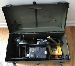Vintage Graflex Speed Graphic Camera with Accessories and Vulcanoid Handi-Case