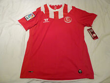 NWT Warrior 2013/2014 Sevilla Red Away Jersey (Men Size MEDIUM)